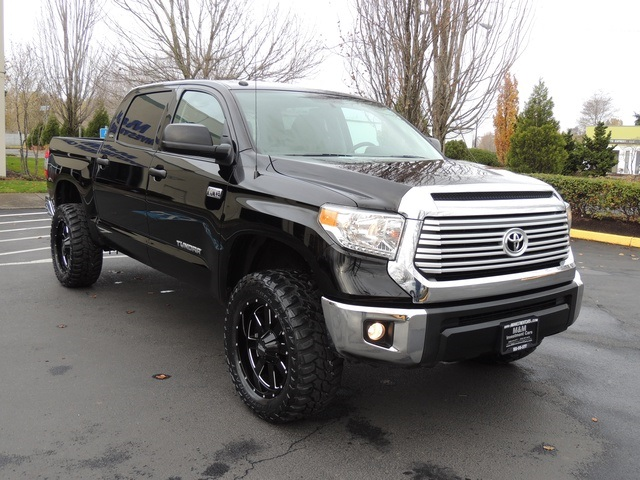 2014 toyota tundra sr5 crewmax 4x4 5 7l lifted lifted. Black Bedroom Furniture Sets. Home Design Ideas