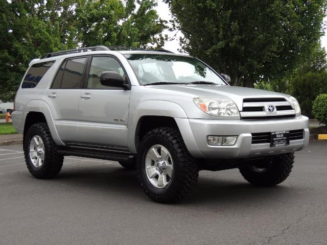"2004 Toyota 4Runner SR5 SPORT 4WD LEATHER /LIFTED 33 ""MUD 2-OWNER 6CYL - Photo 2 - Portland, OR 97217"