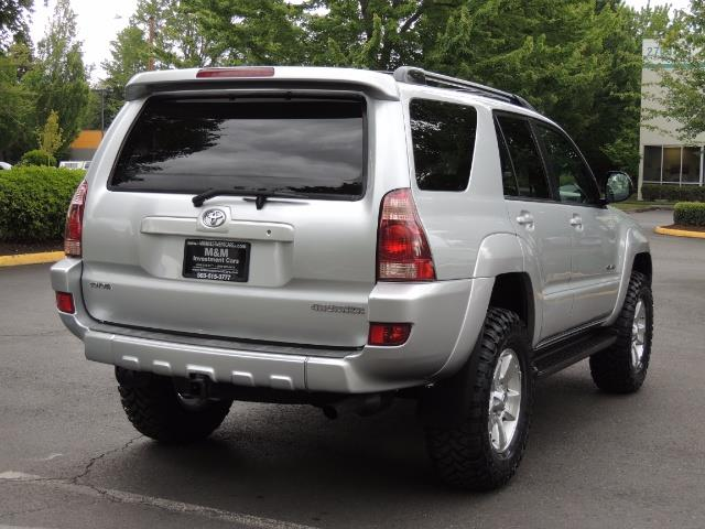 "2004 Toyota 4Runner SR5 SPORT 4WD LEATHER /LIFTED 33 ""MUD 2-OWNER 6CYL - Photo 8 - Portland, OR 97217"