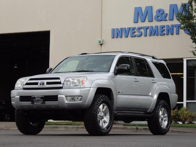 "2004 Toyota 4Runner SR5 SPORT 4WD LEATHER /LIFTED 33 ""MUD 2-OWNER 6CYL - Photo 45 - Portland, OR 97217"