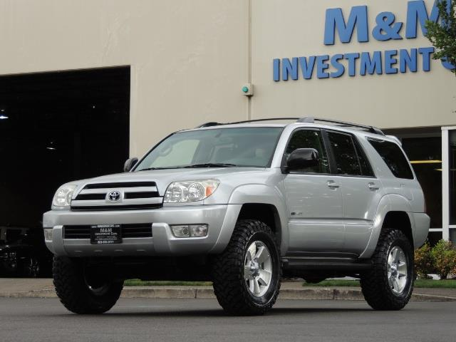 "2004 Toyota 4Runner SR5 SPORT 4WD LEATHER /LIFTED 33 ""MUD 2-OWNER 6CYL - Photo 44 - Portland, OR 97217"