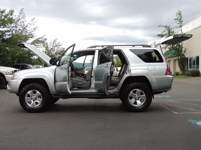 "2004 Toyota 4Runner SR5 SPORT 4WD LEATHER /LIFTED 33 ""MUD 2-OWNER 6CYL - Photo 9 - Portland, OR 97217"