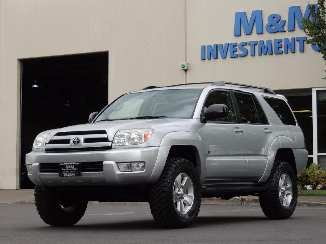 "2004 Toyota 4Runner SR5 SPORT 4WD LEATHER /LIFTED 33 ""MUD 2-OWNER 6CYL - Photo 1 - Portland, OR 97217"