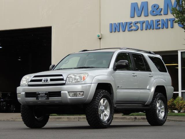 "2004 Toyota 4Runner SR5 SPORT 4WD LEATHER /LIFTED 33 ""MUD 2-OWNER 6CYL - Photo 43 - Portland, OR 97217"
