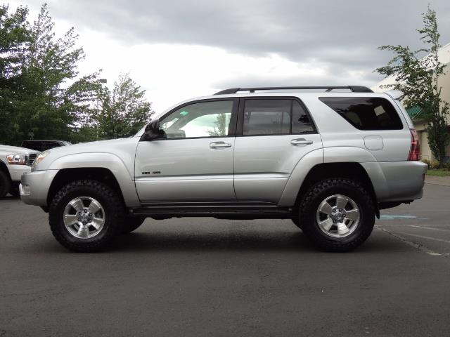 "2004 Toyota 4Runner SR5 SPORT 4WD LEATHER /LIFTED 33 ""MUD 2-OWNER 6CYL - Photo 4 - Portland, OR 97217"