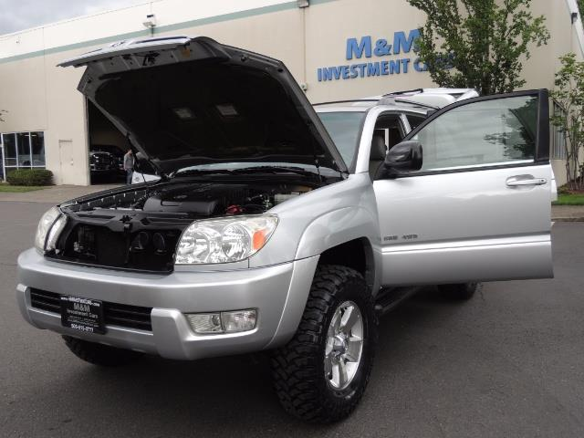 "2004 Toyota 4Runner SR5 SPORT 4WD LEATHER /LIFTED 33 ""MUD 2-OWNER 6CYL - Photo 25 - Portland, OR 97217"