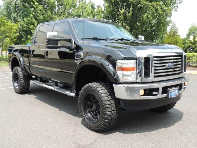 2008 ford f 250 super duty lariat 4x4 6 4l diesel lifted. Black Bedroom Furniture Sets. Home Design Ideas