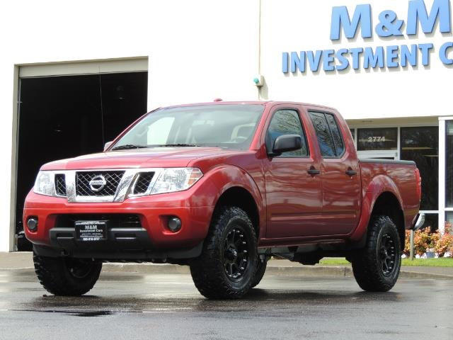 2016 Nissan Frontier SV / 4X4 / Crew Cab / 6Cyl / LIFTED LIFTED - Photo 40 - Portland, OR 97217