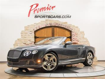 2012 Bentley Continental GTC Mulliner Convertible