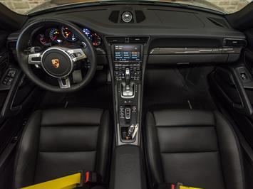 2015 Porsche 911 Turbo S Convertible