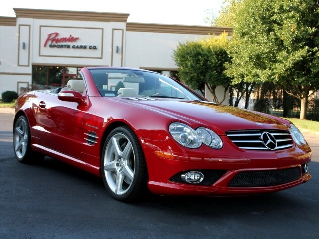 2008 mercedes benz sl55 amg for sale in springfield mo stock p4273. Black Bedroom Furniture Sets. Home Design Ideas