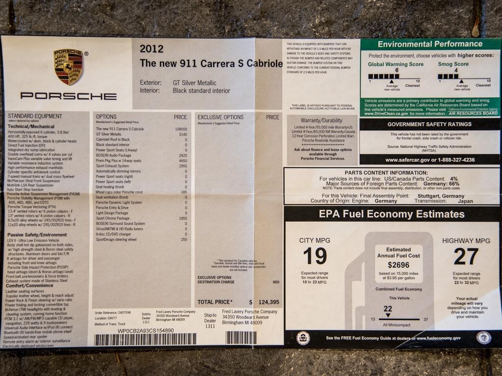 2012 Porsche 911 Carrera S - Photo 43 - Springfield, MO 65802