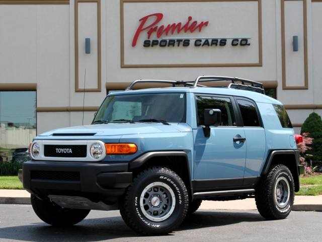 2014 toyota fj cruiser trail teams ulitmate edition for sale in springfield mo stock p4448. Black Bedroom Furniture Sets. Home Design Ideas