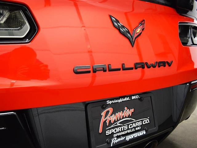 2015 chevrolet corvette z06 callaway sc757 for sale in springfield mo stock p5000. Black Bedroom Furniture Sets. Home Design Ideas