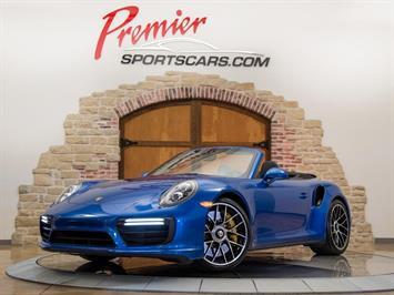 2017 Porsche 911 Turbo S Convertible