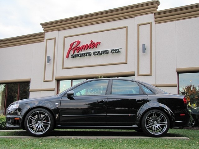 used 2008 audi rs4 quattro for sale in springfield mo premier sportscars co. Black Bedroom Furniture Sets. Home Design Ideas
