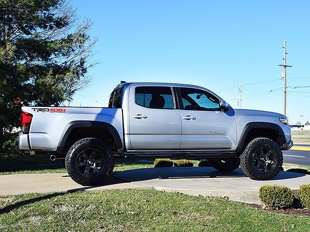 2016 toyota tacoma trd off road double cab for sale in springfield mo stock p4756. Black Bedroom Furniture Sets. Home Design Ideas