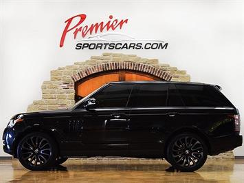 2015 Land Rover Range Rover Supercharged Limited Edition