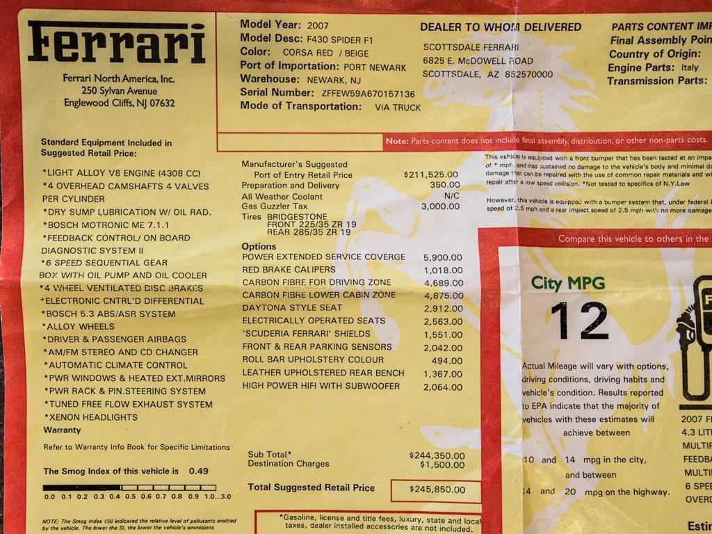 2007 Ferrari F430 Spider - Photo 48 - Springfield, MO 65802