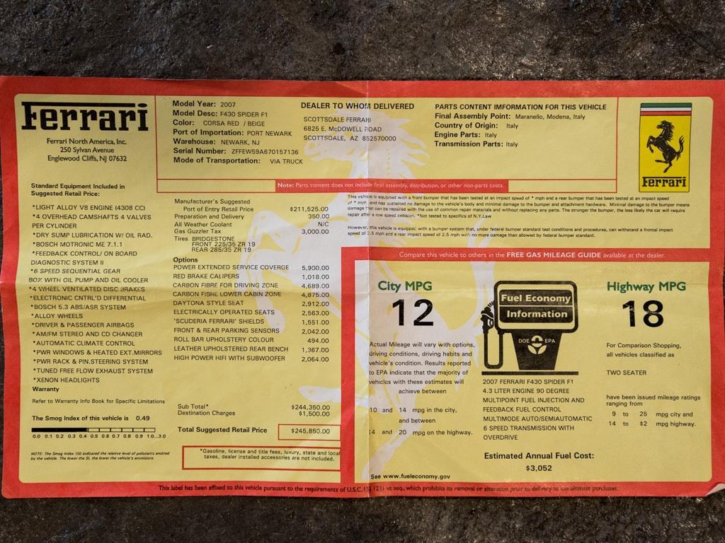 2007 Ferrari F430 Spider - Photo 47 - Springfield, MO 65802