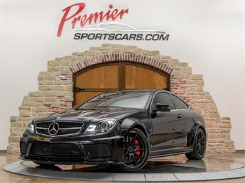 2012 Mercedes-Benz C 63 AMG Black Series Coupe