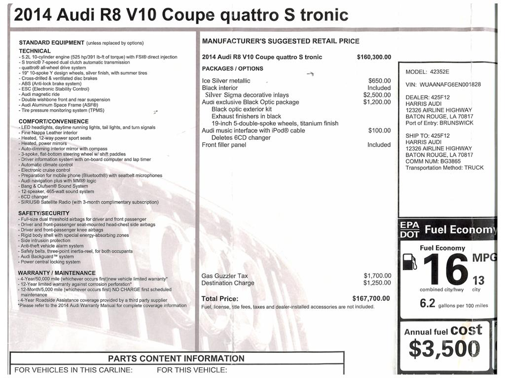 2014 Audi R8 5.2 quattro - Photo 37 - Springfield, MO 65802