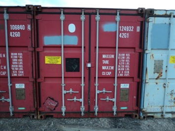 2016 Steel Container Container