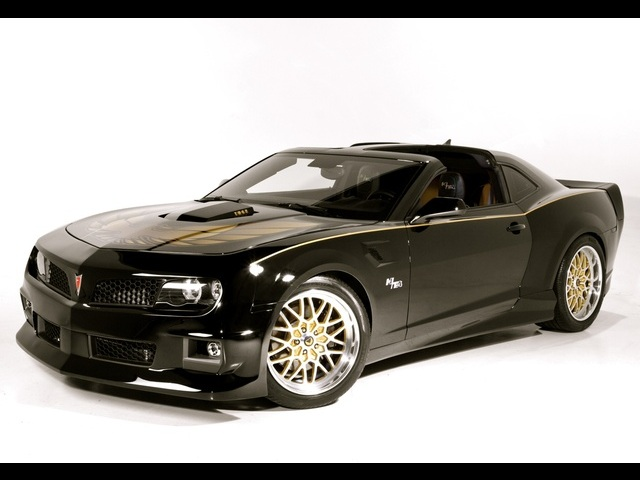 2011 Pontiac Trans Am Hurst Edition Concept with T-Tops - Photo 10 - , TX 77041