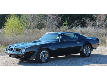 1974 Pontiac Trans Am 1971 455 HO Coupe