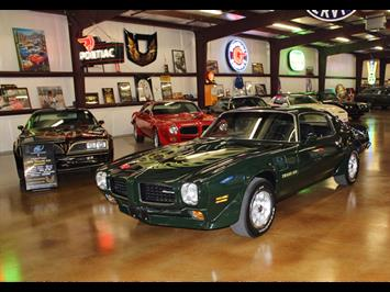 1973 Pontiac Trans Am Brewster Green 455 Coupe