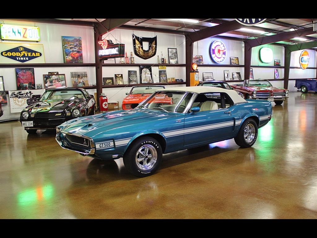 1969 Shelby GT500 Convertible - Photo 3 - , TX 77041
