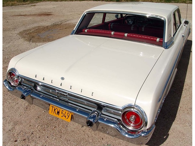 1962 Ford Galaxie 500 with High Performance 406 - Photo 8 - Houston, TX 77041