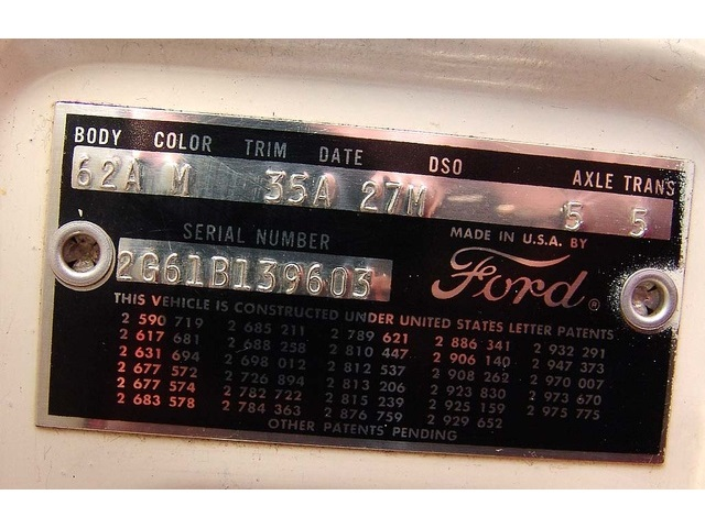 1962 Ford Galaxie 500 with High Performance 406 - Photo 43 - Houston, TX 77041