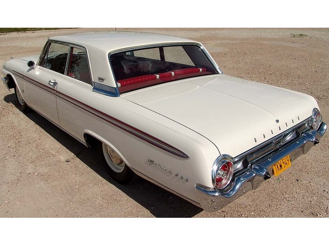 1962 Ford Galaxie 500 with High Performance 406 - Photo 5 - Houston, TX 77041