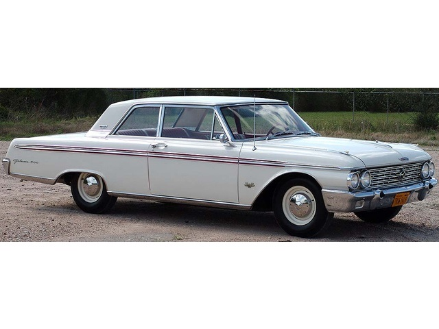 1962 Ford Galaxie 500 with High Performance 406 - Photo 19 - Houston, TX 77041