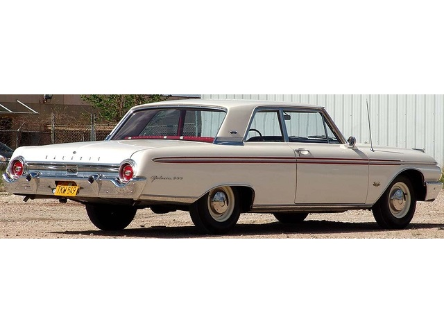 1962 Ford Galaxie 500 with High Performance 406 - Photo 3 - Houston, TX 77041