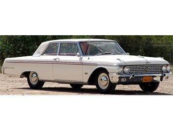 1962 Ford Galaxie 500 with High Performance 406 Coupe