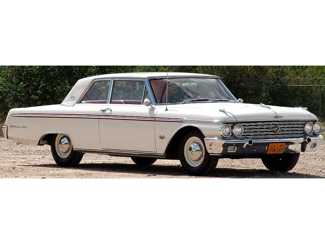 1962 Ford Galaxie 500 with High Performance 406 - Photo 1 - Houston, TX 77041