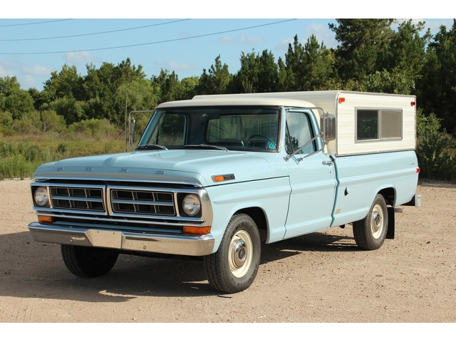1971 Ford F-100 Long Bed - Photo 3 - Houston, TX 77041