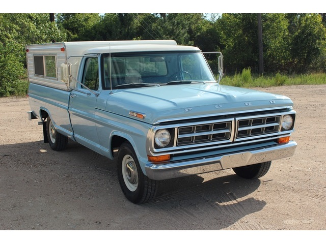 1971 Ford F-100 Long Bed - Photo 1 - Houston, TX 77041