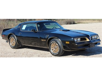 1977 Pontiac Trans Am Bandit with T-Tops Coupe