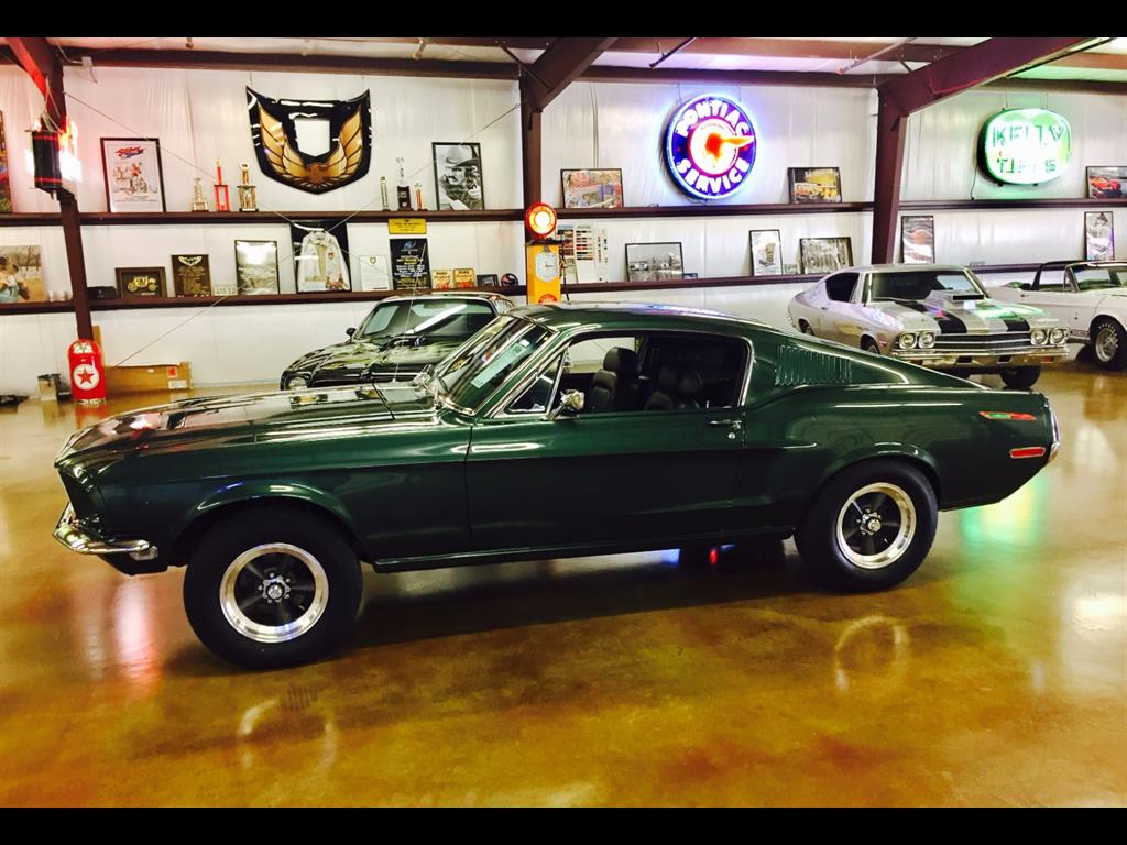 "1968 Ford Mustang  ""S "" Code Bullitt Tribute - Photo 1 - , TX 77041"
