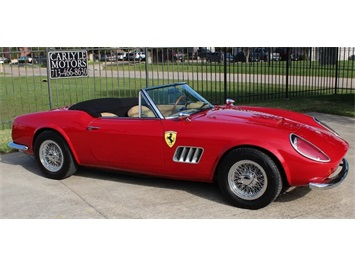 1960 Modena 250 GT California Spyder Replica Convertible