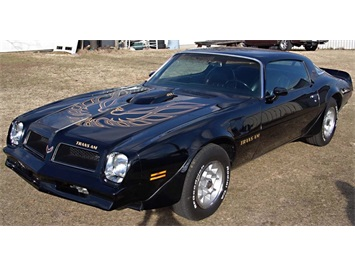 1976 Pontiac Trans Am 455, 4-Speed Coupe