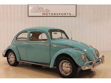1962 Volkswagen Beetle Coupe