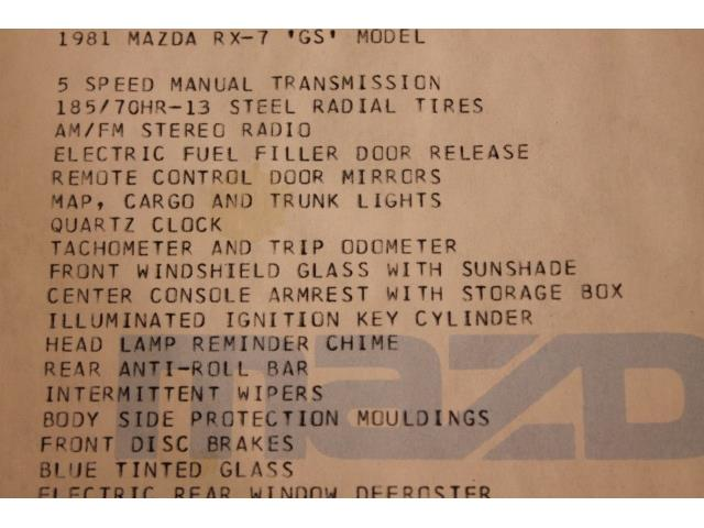1981 Mazda RX-7 GS - Photo 56 - Fort Wayne, IN 46804