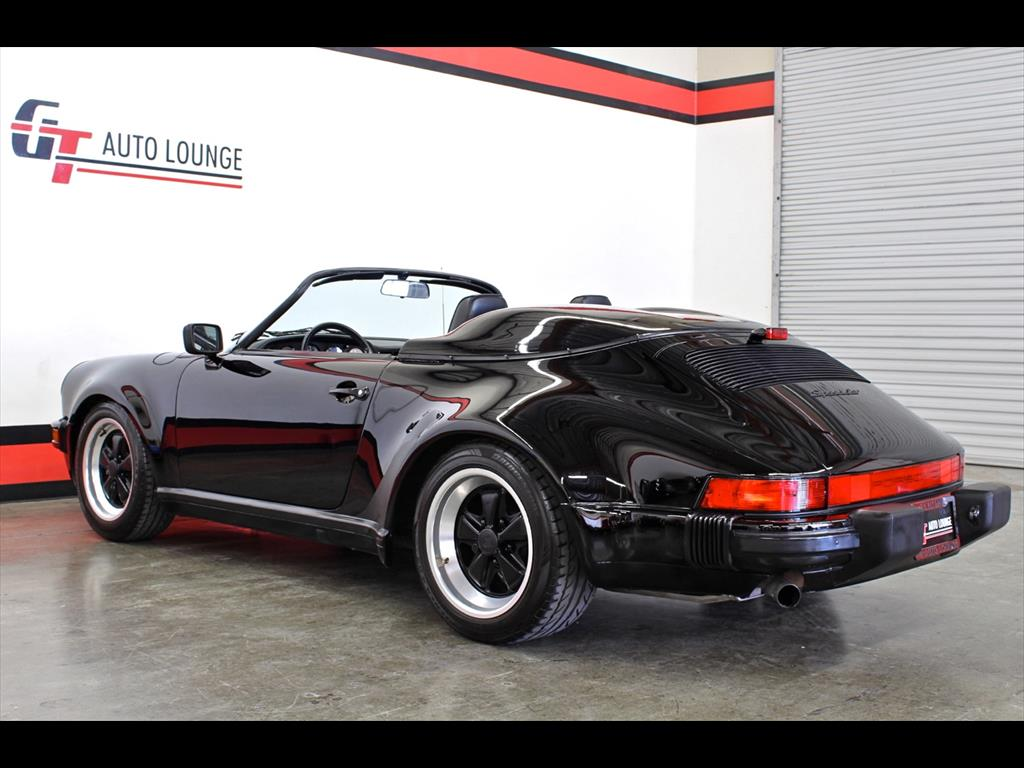 1989 Porsche 911 Speedster Triple Black One Owner