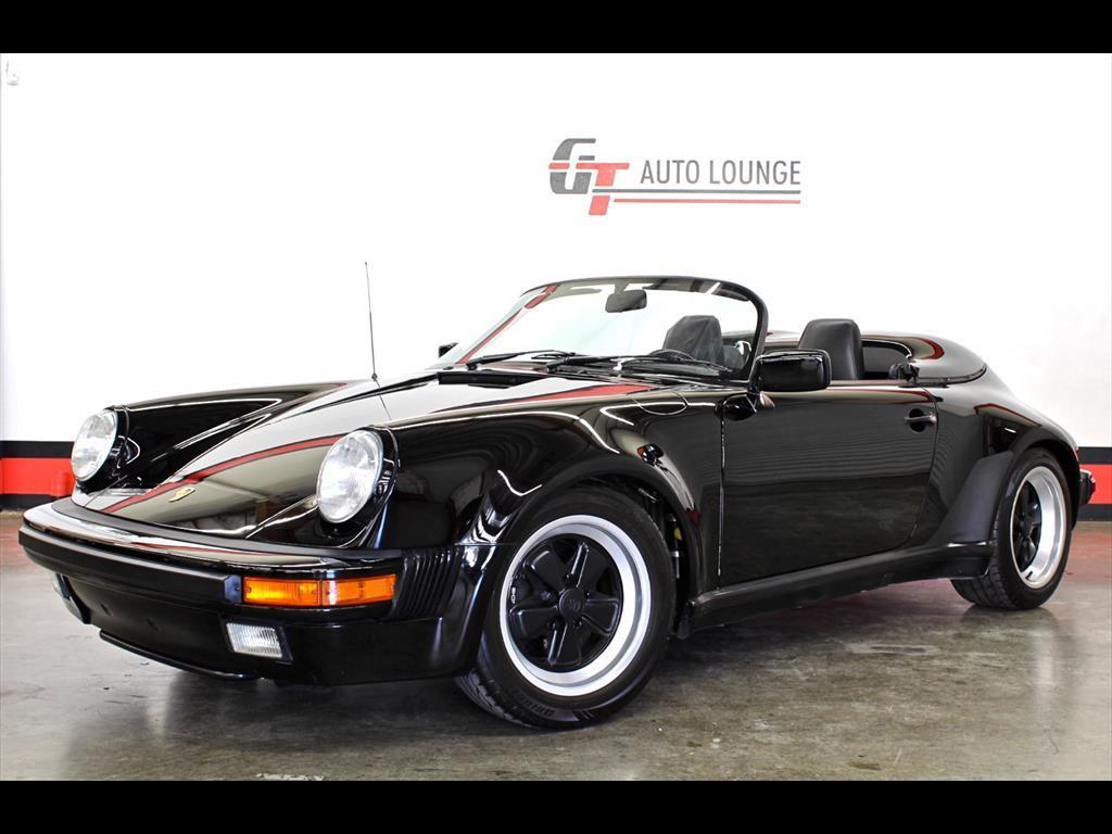 1989 Porsche 911 Speedster Triple Black One Owner