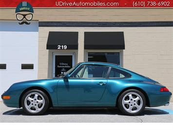 1996 Porsche 911 993 Carrera Coupe 6 Speed Motor Sound Pwr Sts CD