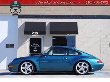 1996 Porsche 911 Carrera 2 Coupe 6Speed Service History Rare Color